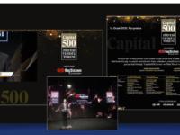Capital500 Ödülleri KoçSistem Ana Sponsorluğunda Sahiplerini Buldu!