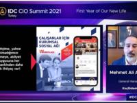 """IDC CIO Summit Etkinliğinde """"Yeni Hayatımızın İlk Yılı""""nda Teknoloji Perspektifini Anlattık!"""